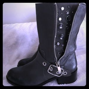Vince Camuto Genuine Leather Studded Boots NEW💥💥